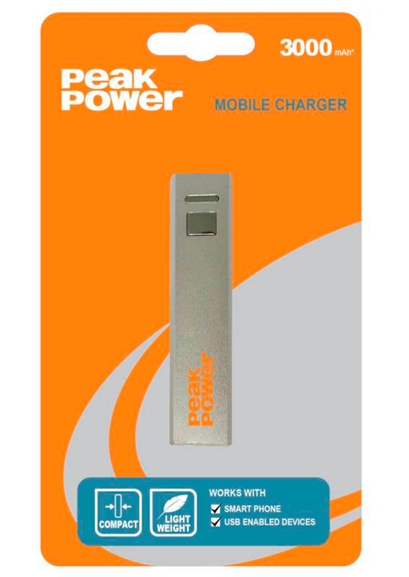 CARGADOR USB 3000 MAH